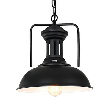 Nord europa vintage industrie schwarz metall pendelleuchten esszimmer wohnzimmer küche leuchte 1 kopf