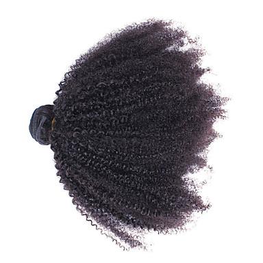 Włosy mongolskie Nieprzetworzone Ludzkie włosy wyplata 1szt Człowieka splotów włosów