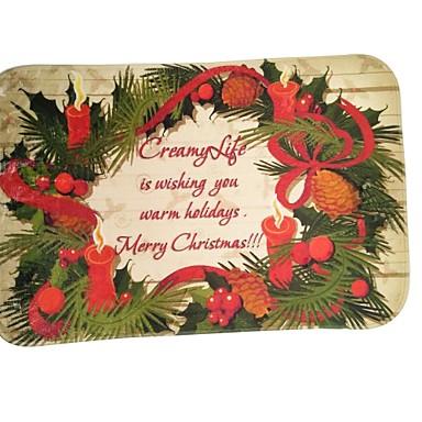 Dekoracje bożonarodzeniowe Artykuły na przyjęcie bożonarodzeniowe Zabawki Prostokątne Litera Święto Święto Kostiumy Św. Mikołaja Święty