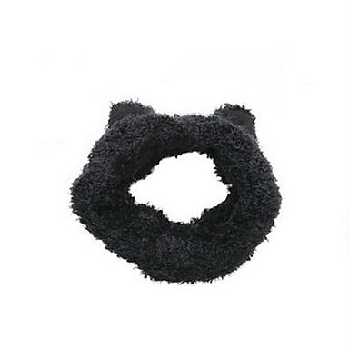 Kot Zwierzę Nakrycia głowy Doldurulmuş ve Peluş Hayvanlar Opaski do Włosów Słodki Dzieci Animals Portfel Motyw kreskówkowy Kreatywne