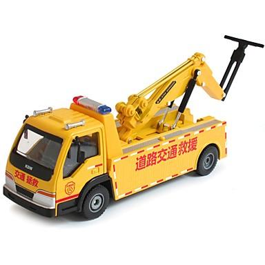 Pojazd ratowniczy Pojazdy budowlane i ciężarówki do zabawy Samochodziki do zabawy Zabawka edukacyjna 1:50 Klasyczna Obrotową głowicę