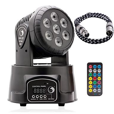 U'King Oświetlenie LED sceniczne DMX 512 Master-Slave Aktywowana Dźwiękiem Auto Pilot zdalnego sterowania 70 na Klub Ślub Scena Impreza