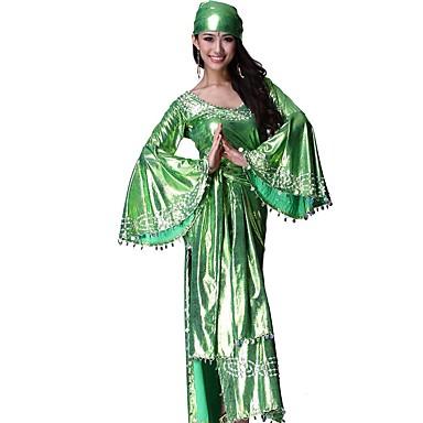 Zigeuner Austattungen Damen Weihnachten Halloween Fest / Feiertage Halloween Kostüme Rot Grün