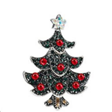 Święto Biżuteria świąteczna Ciemnozielony Chrom Akcesoria do cosplay Boże Narodzenie