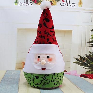 1szt Santa Zdobienia Motyw świąteczny, Dekoracje świąteczne Ozdoby świąteczne