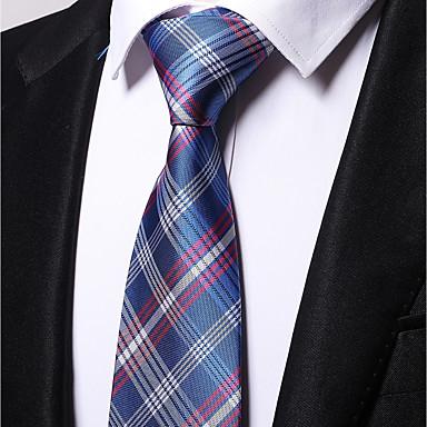 Męskie Do biura Na co dzień Krawat - Poliester, Kwiaty