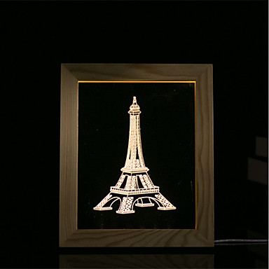 1 zestaw 3d nastrój lampki nocne oświetlenie led lampa stojąca na zdjęcia w sypialni