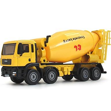 Koparka Betoniarka Pojazdy budowlane i ciężarówki do zabawy Samochodziki do zabawy Zabawka edukacyjna 1:50 Klasyczna Obrotową głowicę