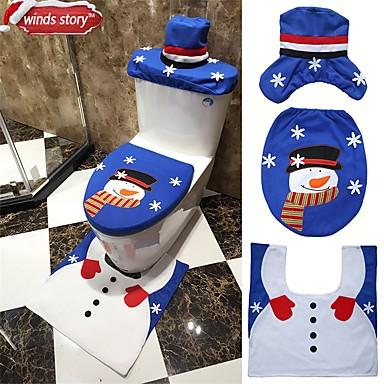 1szt Wakacje i Powitania nóżki Zestawy łazienkowe Święta Lepki, Dekoracje świąteczne Ozdoby świąteczne
