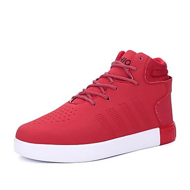 Rouge Drapée Chaussures Confort Basket 06407016 Bottine Printemps Marche Polyuréthane Plat Hiver Bout Femme Demi Noir Botte Talon fermé BxdaqU6C