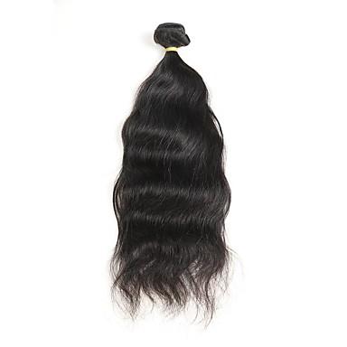1 Pakiet Włosy peruwiańskie Naturalne fale Włosy naturalne remy Fale w naturalnym kolorze Ludzkie włosy wyplata Ludzkich włosów rozszerzeniach Damskie
