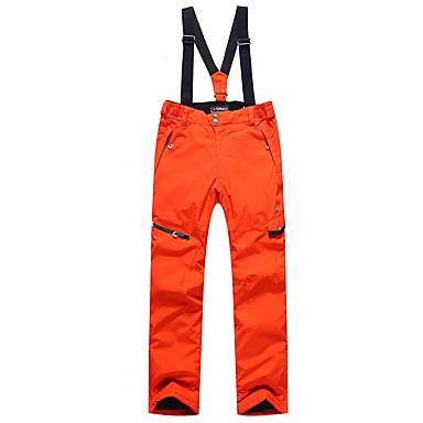 Phibee Herrn Skihosen Warm Wasserdicht Windundurchlässig tragbar Atmungsaktivität Anti-Statisch Skifahren Polyester