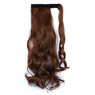 Clip In Kucyki Owinąć Kawałek włosów Przedłużanie włosów Falisty