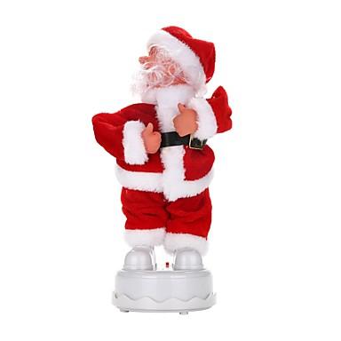 Weihnachts Geschenke Spielzeug für Weihnachten Spielzeuge Santa Anzüge Urlaub Urlaub Neues Design Weicher Kunststoff Geflochtener Stoff