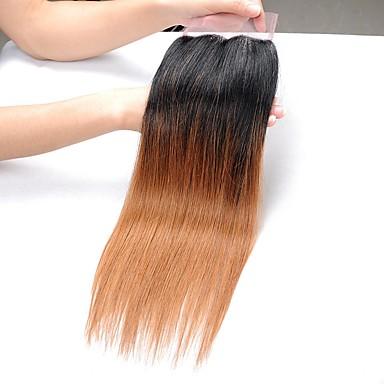Włosy brazylijskie Prosta Włosy naturalne remy Ombre Ombre Ludzkie włosy wyplata Ludzkich włosów rozszerzeniach