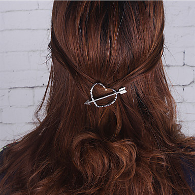 Europe and the United States foreign trade act the role ofing is tasted Simple fashion hair accessories Set auger A0040 cute girl hearts hairpin edge