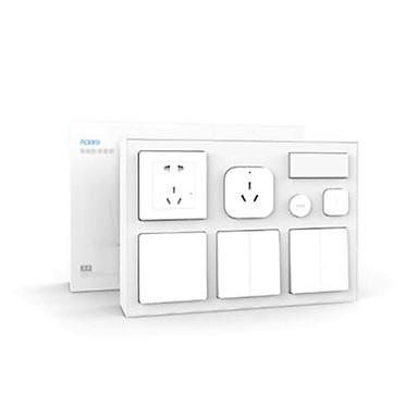 xiaomi aqara inteligentny zestaw do sypialni klimatyzator mate czujnik temperatury i wilgotności czujnik ciala gniazdo ścienne przełącznik