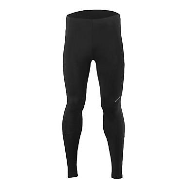 Arsuxeo Calças Elásticas para Ciclismo Homens Moto Meia-calça Calças Primavera Roupa de Ciclismo Secagem Rápida Redutor de Suor Tiras