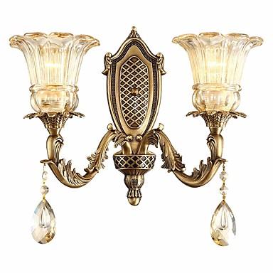 ZHISHU Wiejski / Retro / Vintage Lampy ścienne Salon / Sypialnia / Domowy Metal Światło ścienne IP20 110-120V / 220-240V 5 W / E26 / E27