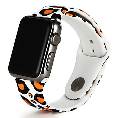 Watch Band na Apple Watch Series 3 / 2 / 1 jabłko Pasek sportowy Silikon Opaska na nadgarstek