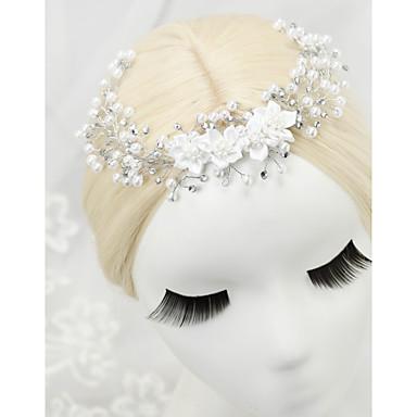 imitacja perły rhinestone opaski 1szt elegancki styl głowy