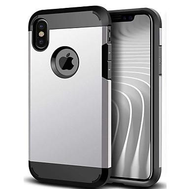 Capinha Para Apple iPhone X iPhone 8 iPhone 6 iPhone 6 Plus Antichoque Capa traseira Armadura Rígida PC para iPhone X iPhone 8 Plus