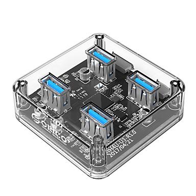 orico mh4u - u3 - 03 - cr 4 ports usb-hub usb 3.0 transparenter Hub Datennabe
