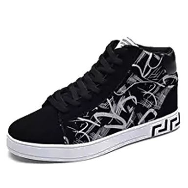 Herrn Schuhe PU Winter Komfort Sneakers Schwarz / weiss / Schwarz / Rot / Schwarz / blau