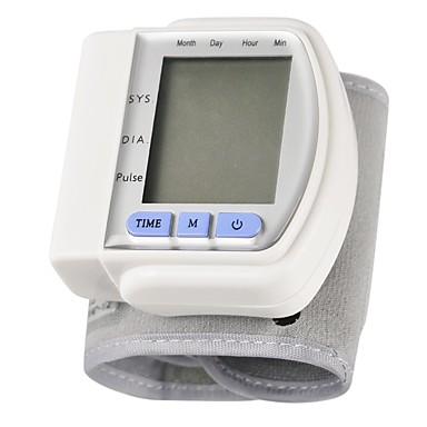 Handgelenk Schaltet automatisch aus Uhrzeitanzeige LCD Anzeige Blutdruck Messung PC (Polycarbonat)