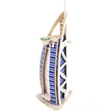 voordelige 3D-puzzels-RUOTAI 3D-puzzels Modelbouwsets Architectuur Beroemd gebouw 1pcs Kinderen Geschenk