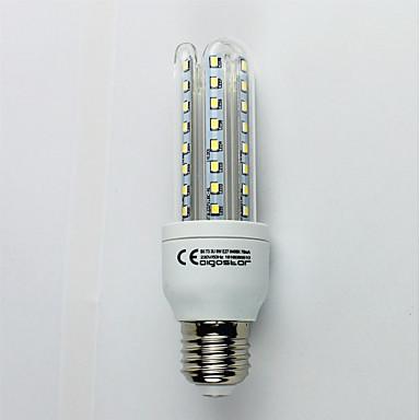 1szt 9W 720 lm E27 Żarówki LED kukurydza T30 48 Diody lED SMD 3528 Zimna biel AC 110-240V
