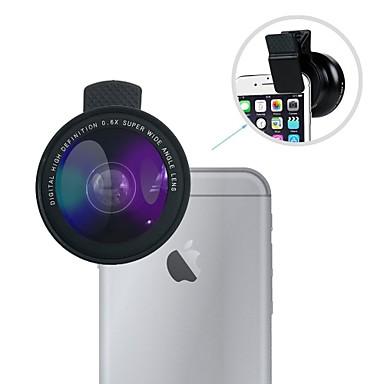 szerokokątny zestaw obiektywów lingwei uniwersalny obiektyw szerokokątny 0,6x / obiektyw makro 12x z klipsem dla iphone