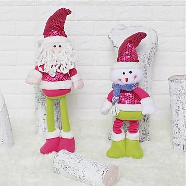 Święta Bożego Narodzenia Impreza / bal Na przyjęcia i prezenty - Upominki Zdobienia Cekin Włókniny Święto Fairytale Theme Rodzina
