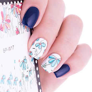 Umorismo 1 Pcs Adesivi Manicure Manicure Pedicure Fiore - Di Tendenza Quotidiano #06441404