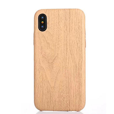 Case For Apple iPhone X iPhone 8 iPhone 8 Plus iPhone 5 Case Pattern Back Cover Wood Grain Soft TPU for iPhone X iPhone 8 Plus iPhone 8