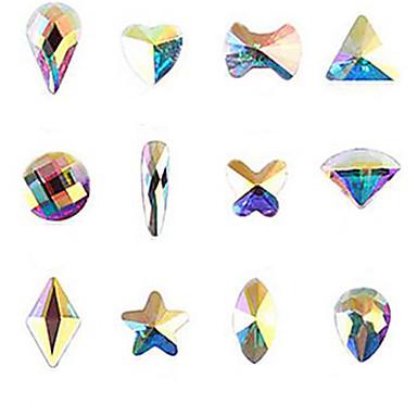 Neglekunst Dekor Rhinstenperler Sminke Kosmetikk Neglekunst Design