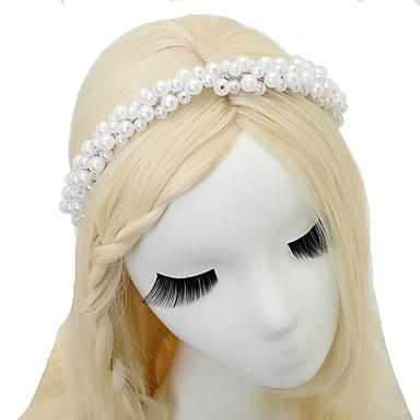 Imitacja pereł Opaski na głowę 1szt Ślub Specjalne okazje Winieta