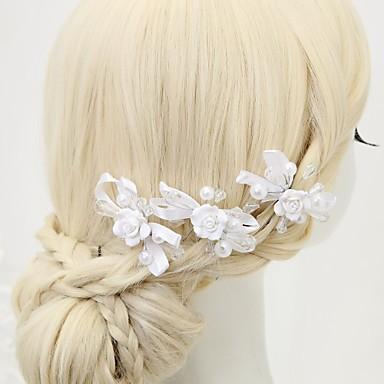 Kryształ / Imitacja pereł / Stop Szpilka do włosów z 3 Ślub / Specjalne okazje Winieta