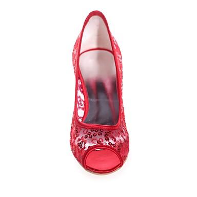 06418595 Bout Rose de Paillettes Kitten Escarpin ouvert Eté Printemps mariage Chaussures Ivoire Basique Femme Chaussures clair Heel Bleu wUxPqTn0R
