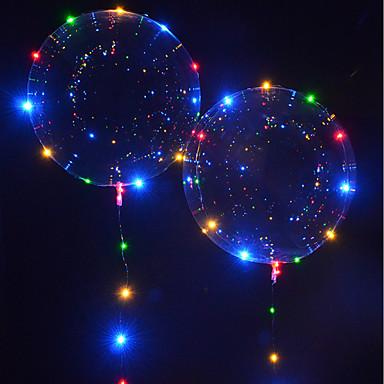 Oświetlenie LED / Balony LED Święto / Urodziny Świecące w ciemności / Nowy design Dla dzieci / Dla dorosłych Prezent 1 pcs