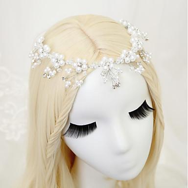 Kryształ Imitacja pereł Kryształ górski Stop Opaski na głowę 1szt Ślub Specjalne okazje Winieta