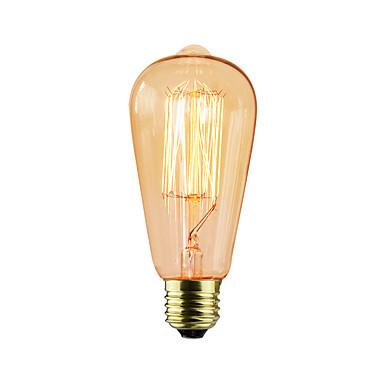 st64 13 ak 25w lâmpadas incandescentes soja antique edison lâmpada (cores sortidas)