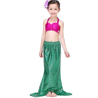 Y Enagua Chinlon Little The Bikini Mermaid Falda Accesorios Bañadores Niños Trompeta Lentejuelas Mascarada Festival Celebración Navidad Sirena qUzVpGMS