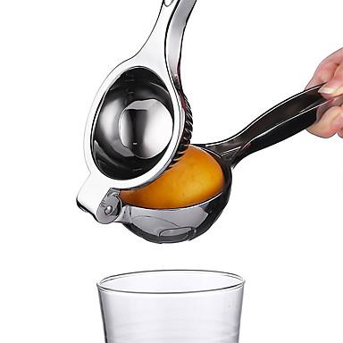 ze stali nierdzewnej instrukcja wyciskarka do cytryny sokowirówka owoce pomarańczowy cytrusowe wapno klip narzędzia kuchenne