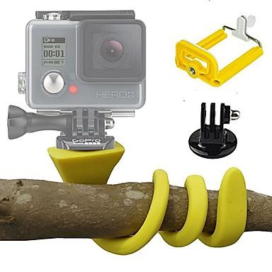 Action Camera / Kamery sportowe KIT Elastyczne mocowanie Obuwie turystyczne Regulowana długość Sprawa Wielofunkcyjny Składany/a Dla