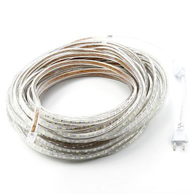 abordables Bandes Lumineuses LED-30m 98.4ft 1800 lumières de bande led 5050 smd avec plug UE chaud blanc blanc rouge jaune bleu vert étanche table pour maison salle à manger bar