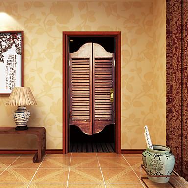 Krajobraz Moda Naklejki Naklejki ścienne 3D Dekoracyjne naklejki ścienne, Winyl Dekoracja domowa Naklejka Ściana