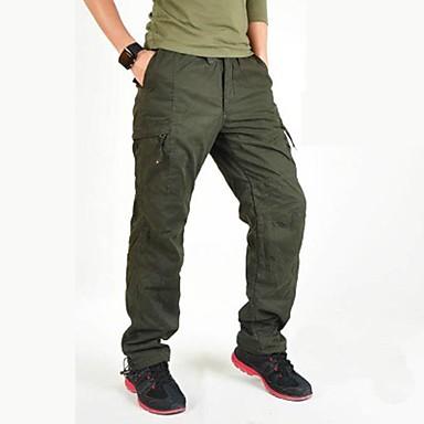 Męskie Spodnie cargo Na wolnym powietrzu Wiatroodporna Zdatny do noszenia Sporty zimowe Zima Spodnie Wspinaczka Multisport