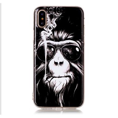 מגן עבור Apple iPhone X iPhone 8 iPhone 8 Plus מגן אייפון5 תבנית כיסוי אחורי חיה רך TPU ל iPhone X iPhone 8 Plus iPhone 8 iPhone 7 Plus