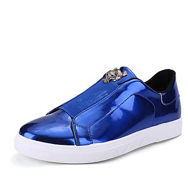 Herre sko Tyll Vår Høst Trendy støvler Treningssko Gull Svart Sølv Blå